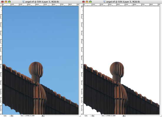 Photoshop Clipping Paths - Results