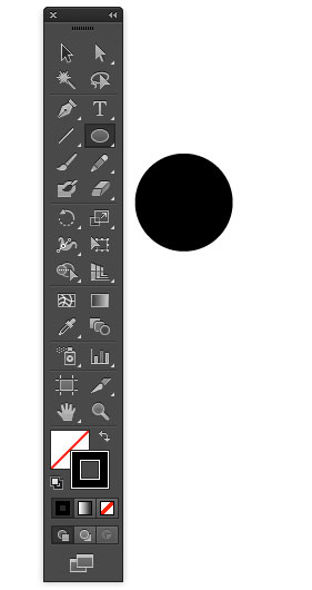 Create a circle in Illustrator