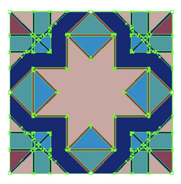 Cropped Pattern Tile