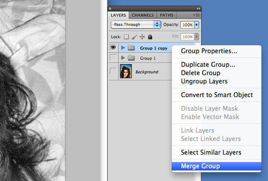 Cutting Out Hair in Photoshop - Delete areas of low contrast