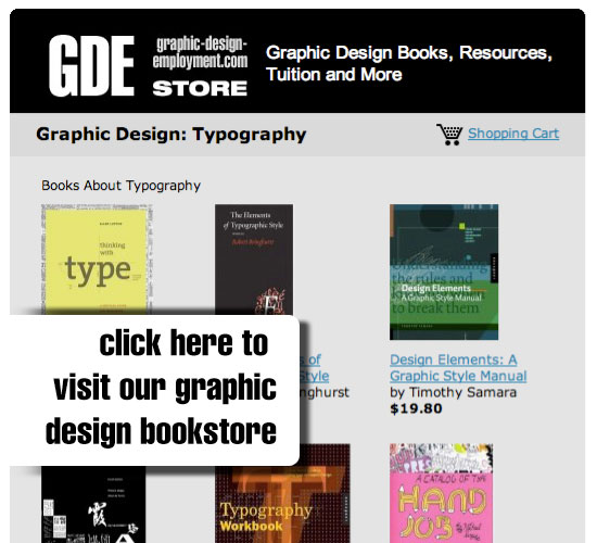 Graphic Design Bookstore