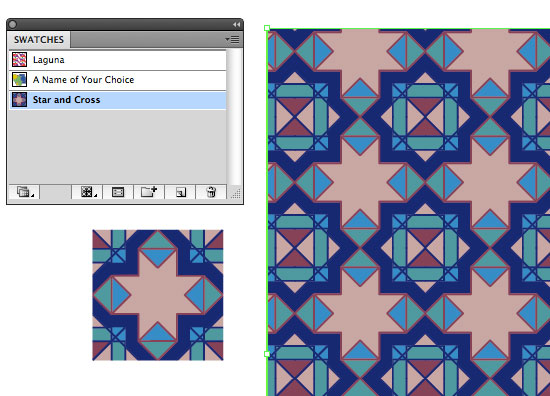 Repeat Pattern Illustrator
