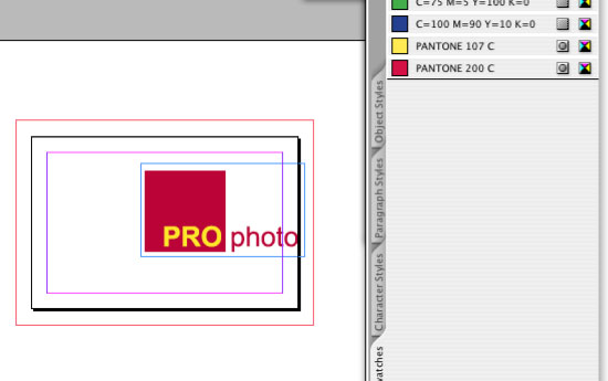 Creating InDesign Files