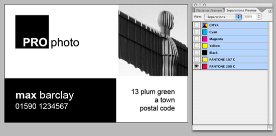 Indesign files how to set up business card layout design for press reheart Gallery