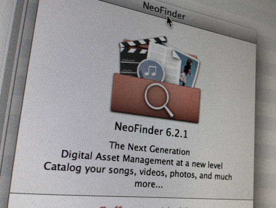 NeoFinder Archiving Software