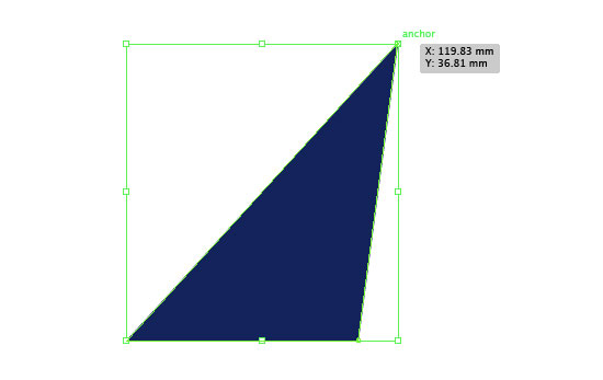 illustrator how to make a triangle