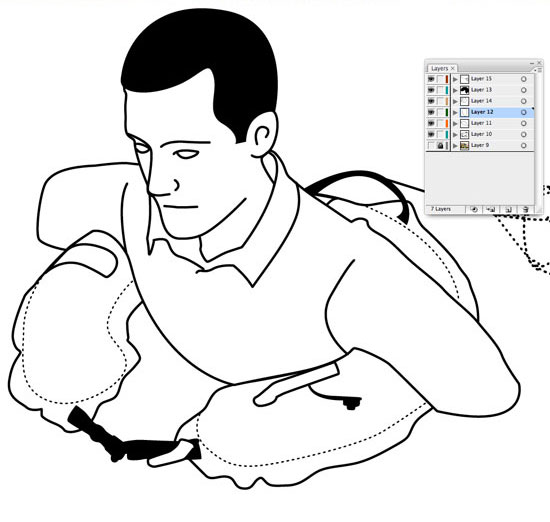 Line Art In Illustrator : Illustration how to create great looking line art in adobe