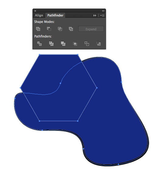 Cropping a shape in Illustrator