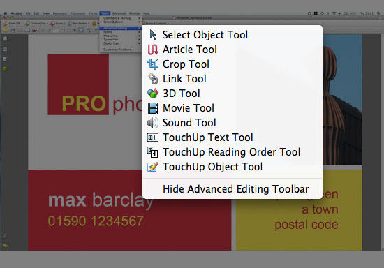 how to crop pdf without acrobat