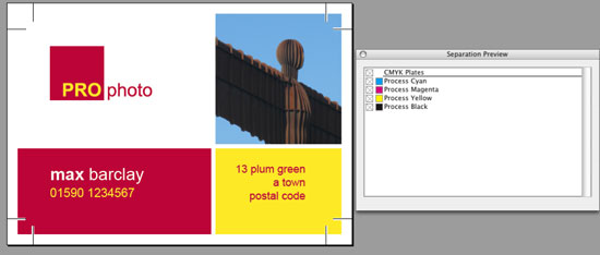 overprint indesign cc