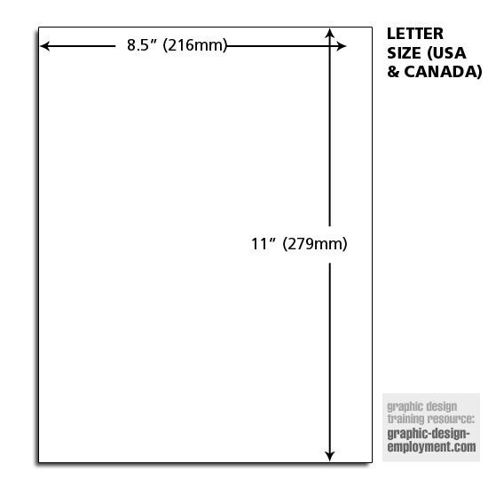 letter page size - Letter Page
