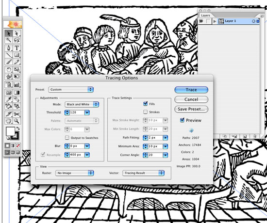 Live Trace in Illustrator  Create Accurate Line Art Tracings