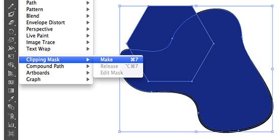 Illustrator How to Cut a Shape