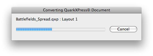 Quark to InDesign conversion with the Q2ID InDesign Plugin